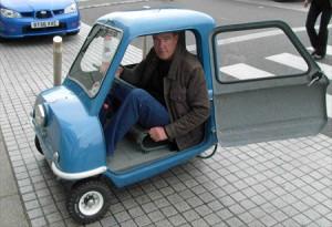 Een klein autootje